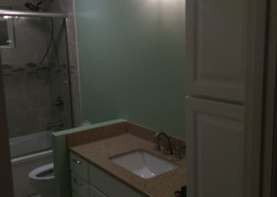 New Sink & Countertop in Remodeled Bathroom, Palo Alto CA