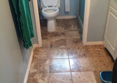 New Toilet & Polished Floor, Bathroom Remodeling in Santa Clara CA