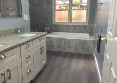 New Sink, Floor & Tub, Bathroom Remodeling in Mountain View CA