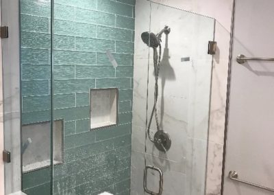 New Open Glass Shower, Bathroom Remodeling in Mountain View CA
