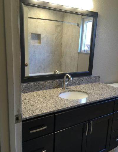 Remodeled Bathroom Sink, Mountain View CA