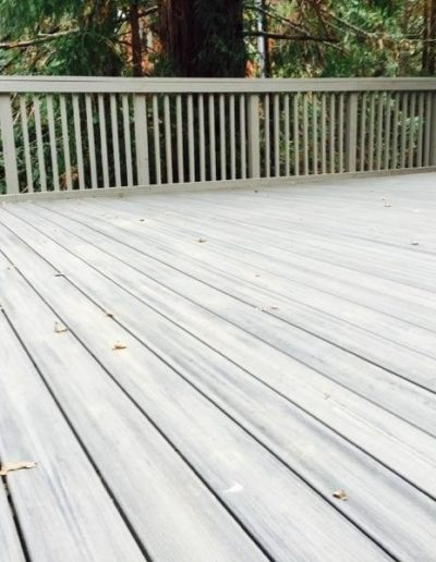 Deck from Mountain View CA Home Remodel