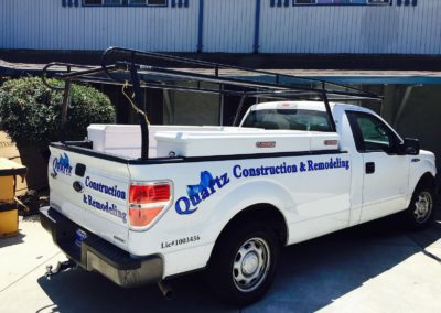 Service Truck for Santa Clara CA Home Remodeling