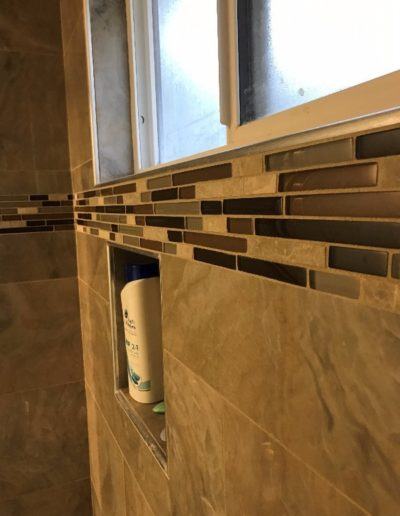 New Tiling Installed in Shower, Bathroom Remodeling in Palo Alto CA