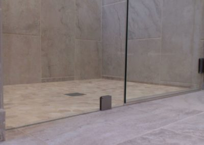 New Glass Shower in Remodeled San Jose CA Bathroom