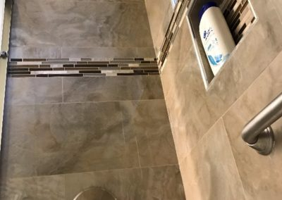 Tiled Shower Installed in Remodeling San Jose Home Bathroom