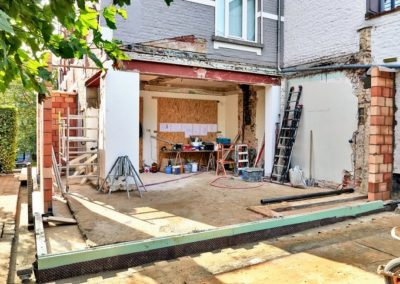 Outside View of House Renovation, San Jose & Palo Alto CA