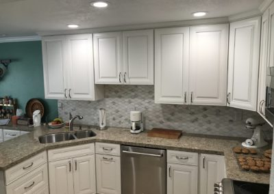 Remodeled Kitchen Counters & Cabinets, San Jose CA