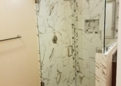 Remodeled Bathroom Shower, San Jose CA