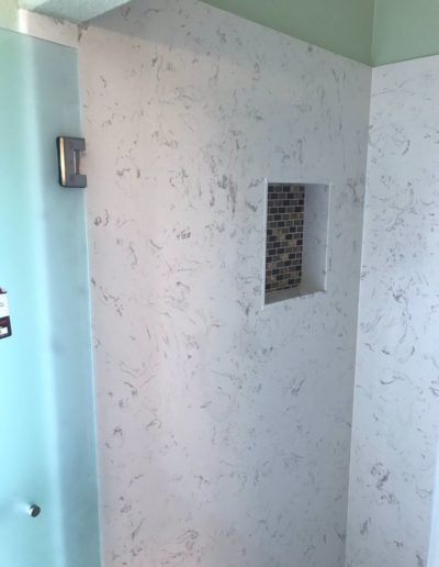 Shower room remodel in San Jose, CA