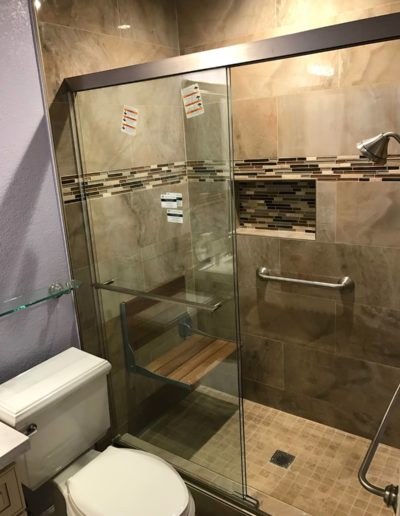 Bathroom renovation with Quartz Construction San Jose