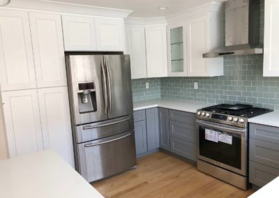 Modern kitchen remodel by Quartz Construction & Remodeling in San Jose & Santa Clara