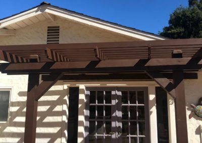 New pergola designs by Quartz Construction San Jose