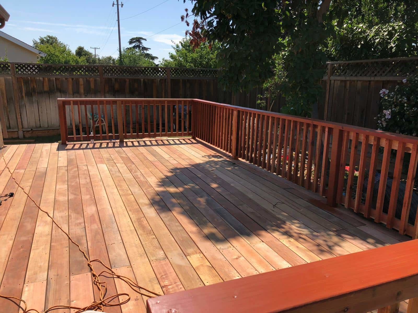 New deck design by Quartz Construction San Jose Company