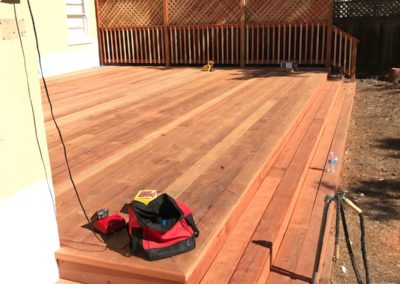 New deck builder by Quartz Construction San Jose