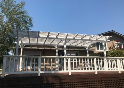 New outdoor pergola by Quartz Construction & Remodeling San Jose