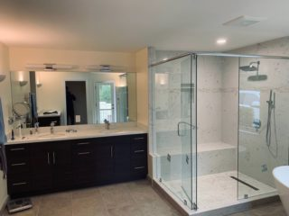 Amazing bath remodeling by Quartz Construction San Jose