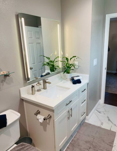 bathroom remodel in san jose by quartz construction
